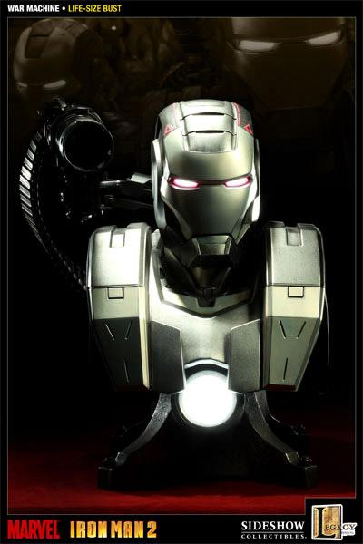 Iron Man 2 Bust 1/1 War Machine 62 cm