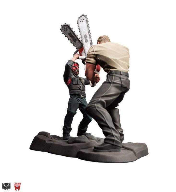 Mandy Statue Chainsaw Battle 25 cm