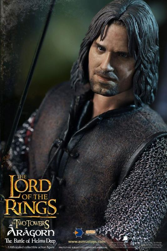 Lord of the Rings Action Figure 1/6 Aragorn at Helm's Deep 30 cm