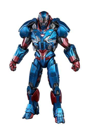 Avengers Endgame:  Iron Patriot - Diecast Figure 1/6 - Hot Toys