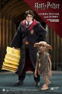 Harry Potter Real Master Series Action Figure 2-Pack 1/8 Harry & Dobby 16-23 cm