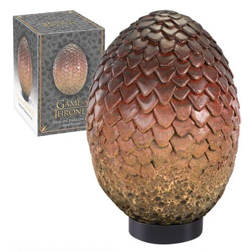 Game of Thrones: Dragon Egg Prop Replica Drogon 20 cm - Noble Collection