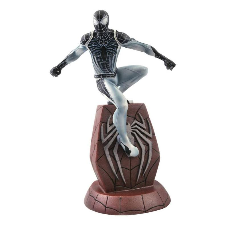 Spider-Man 2018 Marvel Video Game Gallery PVC Statue Negative Suit Spider-Man SDCC 2020