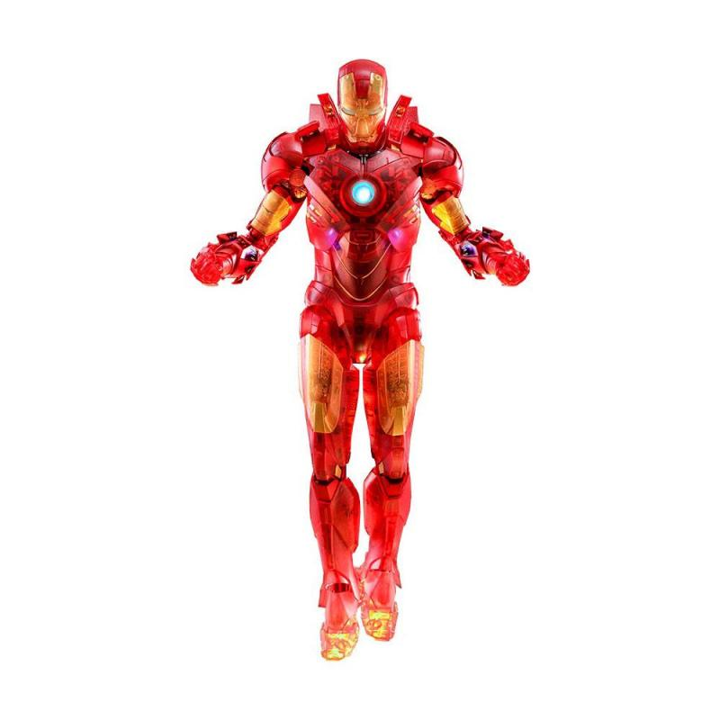 Iron Man 2 MM Action Figure 1/6 Iron Man Mark IV (Holographic Version) 2020 Toy Fair Exclu