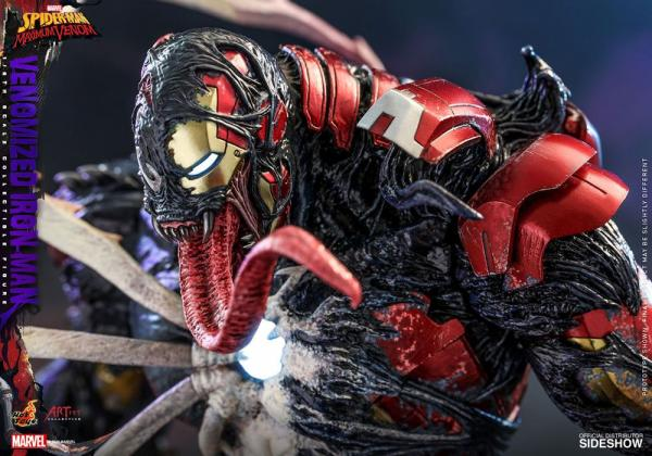 Marvel's Spider-Man: Venomized Iron Man - Venom Artist Collection - Figure 1/6 - Hot Toys