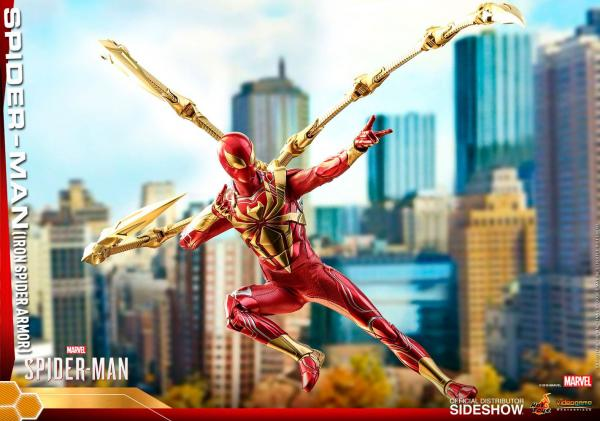Marvel's Spider-Man Video Game Masterpiece Action Figure 1/6 Spider-Man (Iron Spider Armor