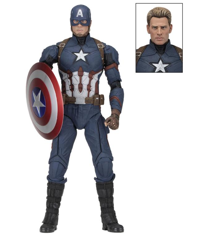 Captain America Civil War: Captain America - Figure 1/4 - Neca