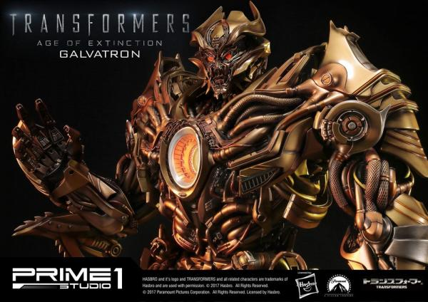 Transformers Age of Extinction Statue Galvatron Gold Version 77 cm