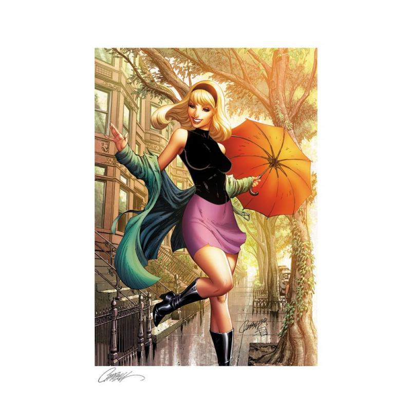 Marvel Comics: Gwen Stacy #1 Summer 46 x 61 cm Art Print - Sideshow Collectibles