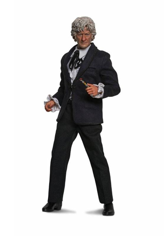 Doctor Who Collector Figure Series Action Figure 1/6 3rd Doctor (Jon Pertwee) Limited Edit