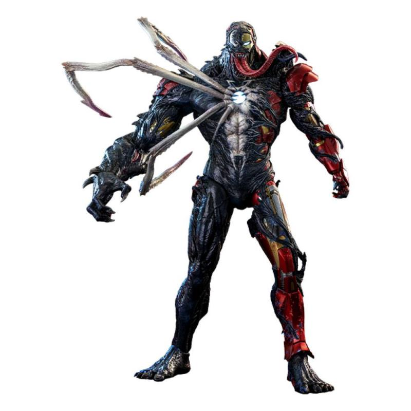 Marvel's Spider-Man: Maximum Venom Artist Collection Action Figure 1/6 Venomized Iron Man