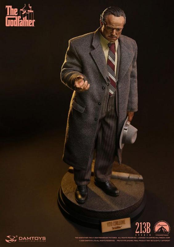 The Godfather: Vito Corleone 1/6 Action Figure Golden Years Version - Damtoys