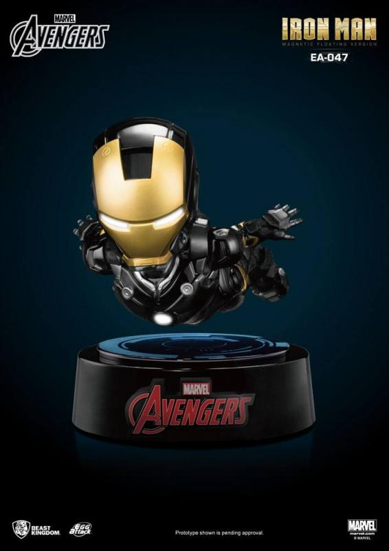 Marvel's Avengers Egg Attack Floating Model with Light Up Function Iron Man Special Editio