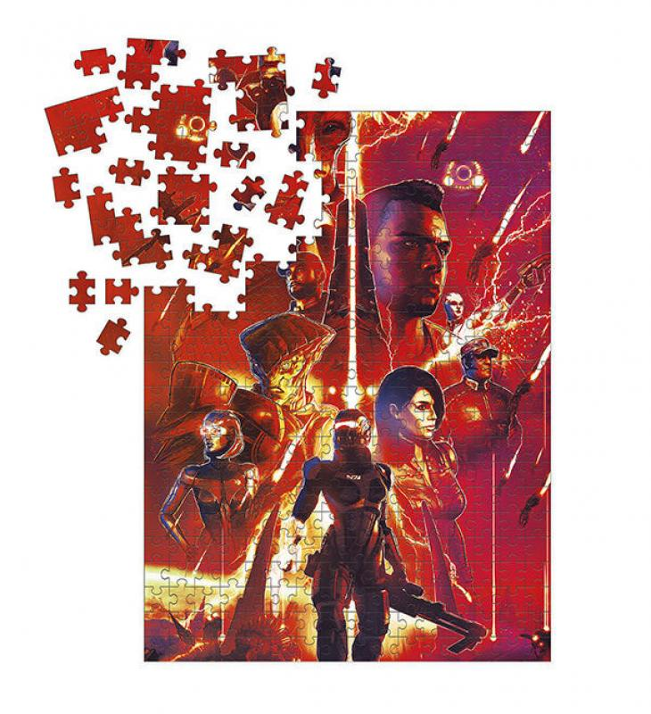 Mass Effect Jigsaw Puzzle Legends (1000 pieces) - Dark Horse