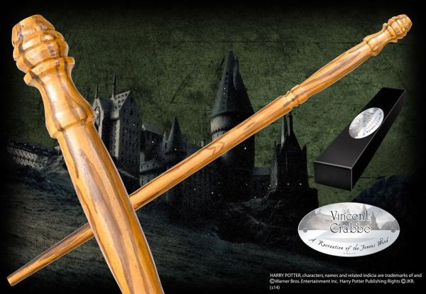 Harry Potter Wand Vincent Crabbe (Character-Edition) - Noble Collection