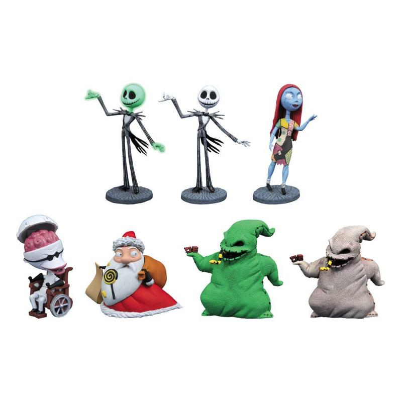 Nightmare Before Christmas D-Formz PVC Figures Series 2 Display (12)