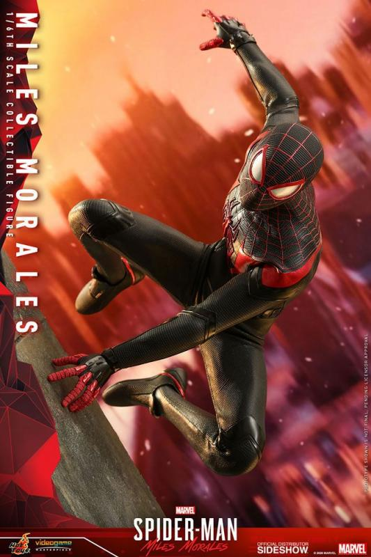 Marvel's Spider-Man: Miles Morales Video Game Masterpiece Action Figure 1/6 Miles Morales