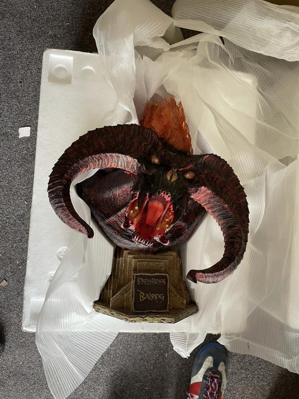 LOTR Balrog legendary scale bust 1:2 - Sideshow