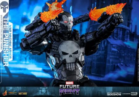Marvel Future Fight Video Game Masterpiece Action Figure 1/6 The Punisher War Machine Armo