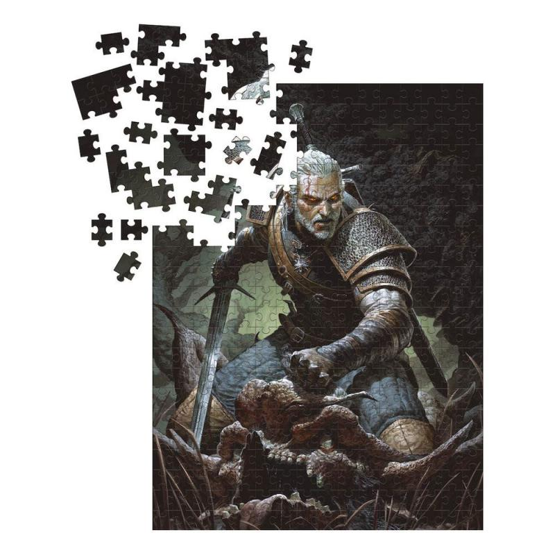 The Witcher 3 Wild Hunt: Geralt Puzzle - Dark Horse