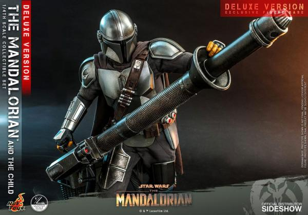Star Wars The Mandalorian Action Figure 2-Pack 1/4 The Mandalorian & The Child Deluxe 46 c