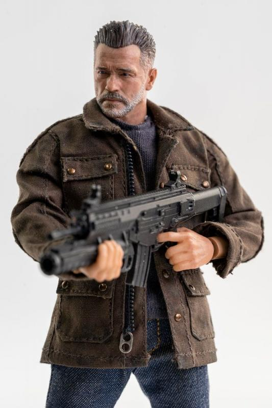 Terminator: Dark Fate Action Figure 1/12 T-800 16 cm