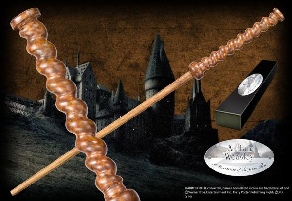 Harry Potter Wand Arthur Weasley (Character-Edition) - Noble Collection