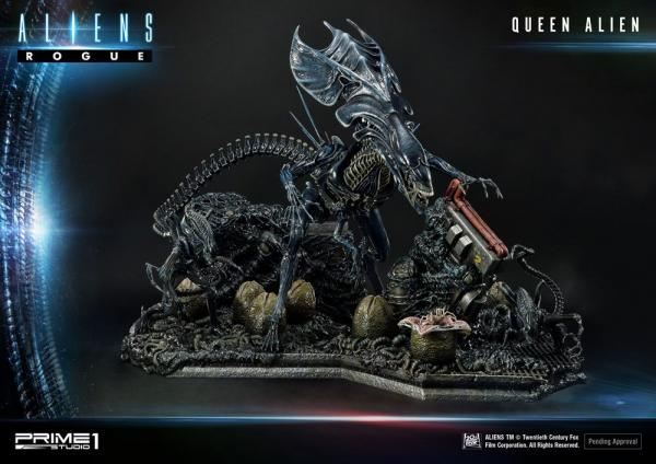 Aliens Premium Masterline Series Statue Queen Alien Battle Diorama 71 cm