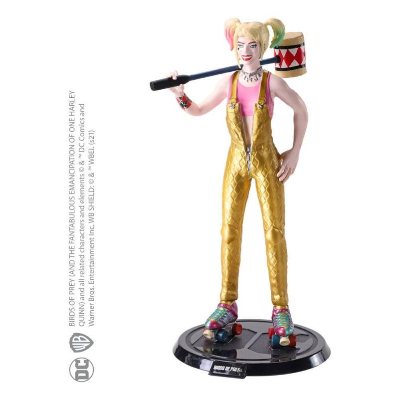 DC Comics: Harley Quinn 19 cm Bendable Figure - Noble Collection