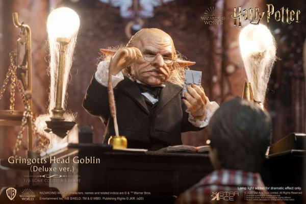 Harry Potter My Favourite Movie Action Figure 1/6 Gringotts Head Goblin Deluxe Ver. 20 cm