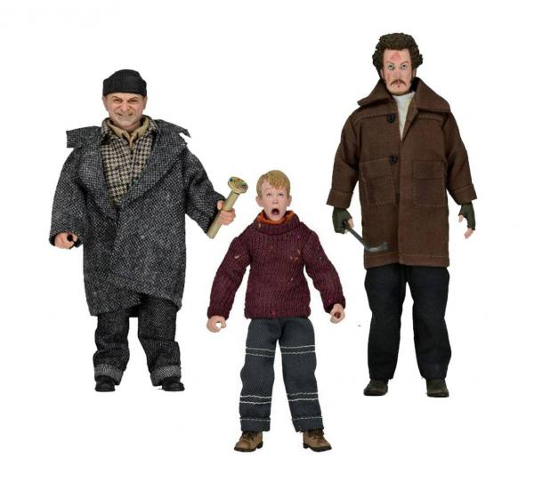 Home Alone Retro Action Figures 15 - 20 cm Case (8)