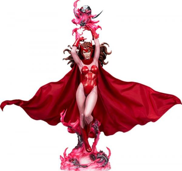 Marvel: Scarlet Witch 74 cm Premium Format Statue - Sideshow Collectibles