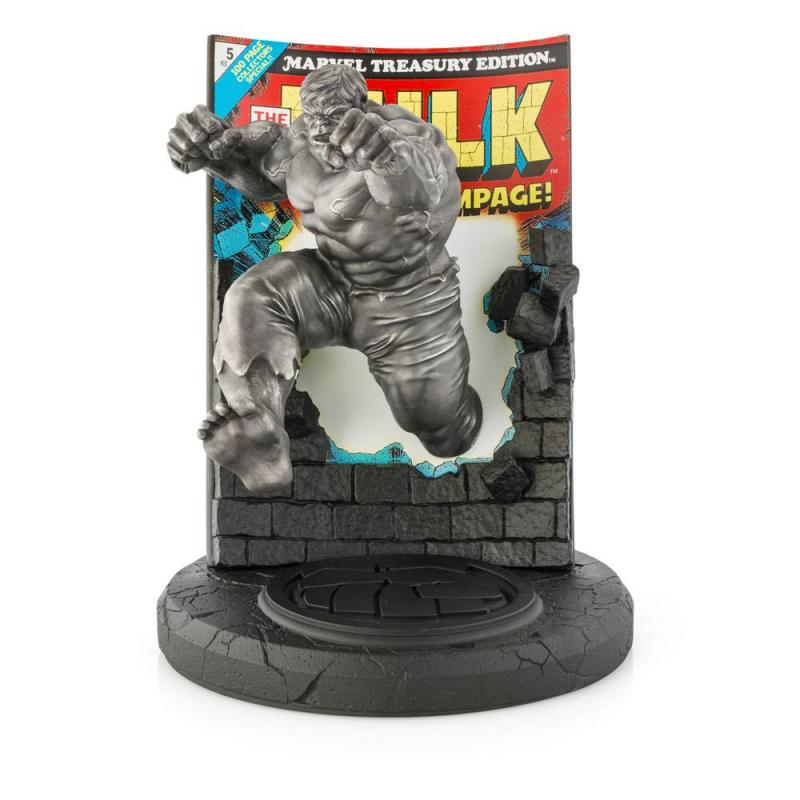 Marvel Pewter Collectible Statue Hulk Satin Finish Limited Edition 22 cm