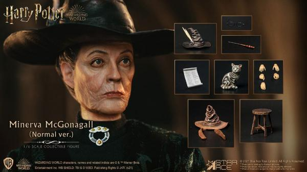 Harry Potter: Minerva McGonagall 1/6 Action Figure - Star Ace Toys