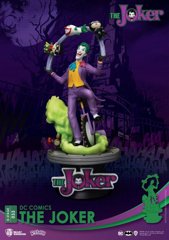 DC Comics D-Stage PVC Diorama The Joker 15 cm cm