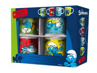 The Smurfs Mug 4-Pack