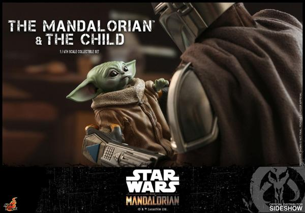 Star Wars The Mandalorian Action Figure 2-Pack 1/6 The Mandalorian & The Child 30 cm