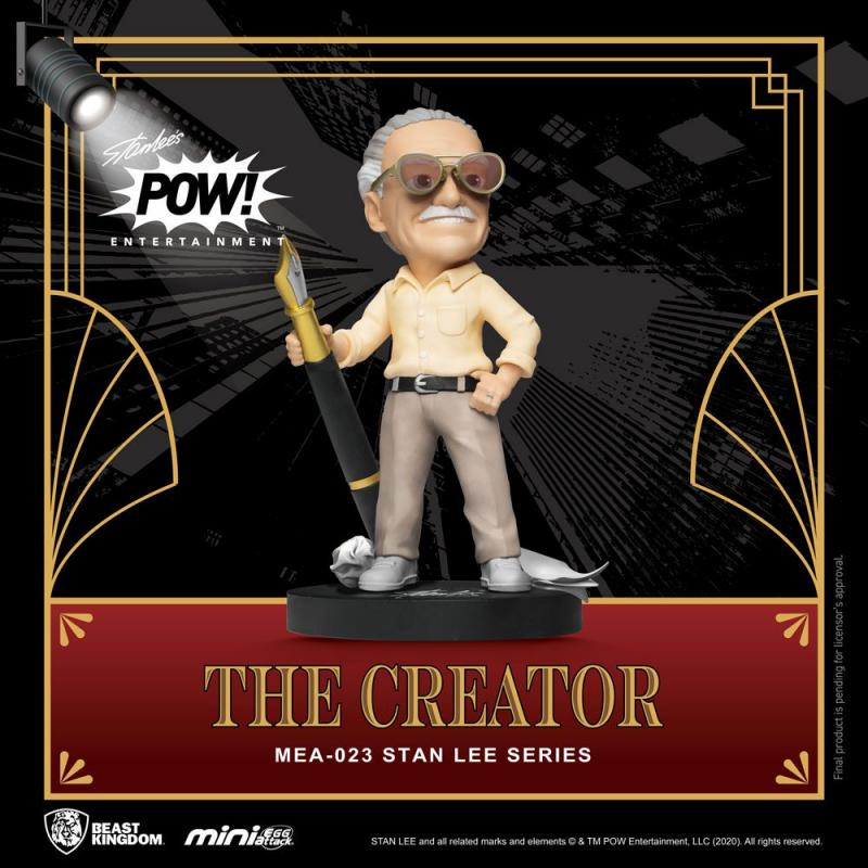 Stan Lee Mini Egg Attack Action Figure Stan Lee The Creator 8 cm
