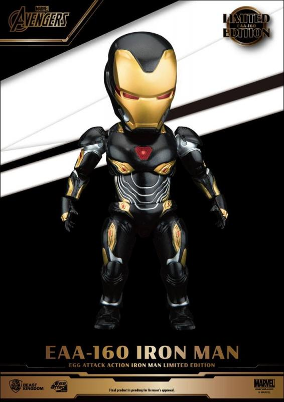 Avengers Infinity War: Iron Man Mark 50 Limited Edition - Egg Figure - Beast Kingdom