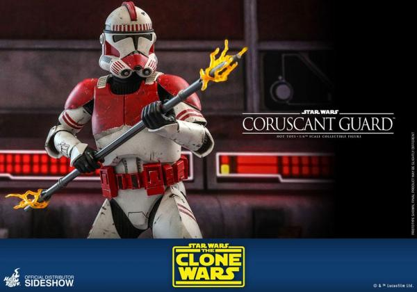 Star Wars The Clone Wars Action Figure 1/6 Coruscant Guard 30 cm