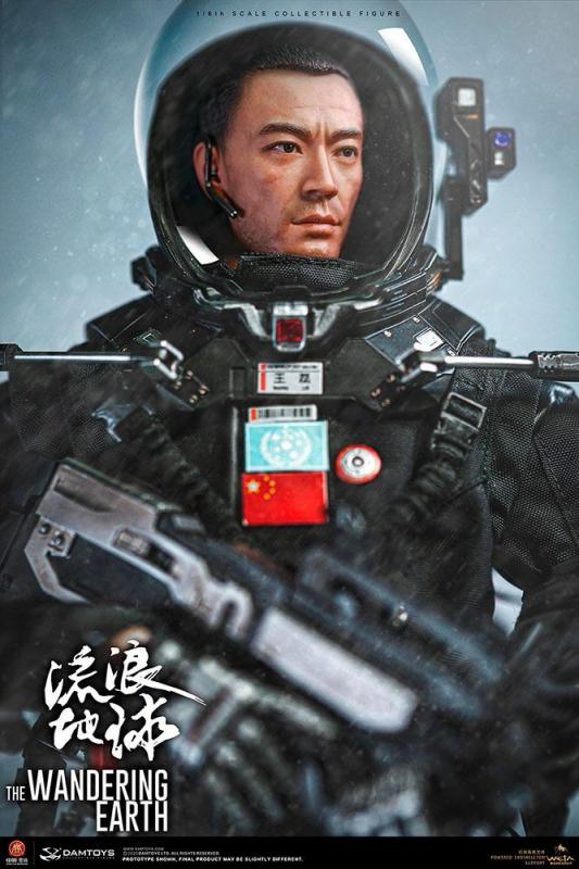 The Wandering Earth: Captain Wang Lei 1/6 Action Figure - Damtoys