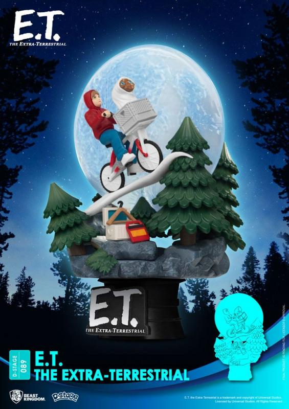 E.T. the Extra-Terrestrial: Iconic Scene Movie - D-Stage PVC Diorama 15cm - Beast Kingdom