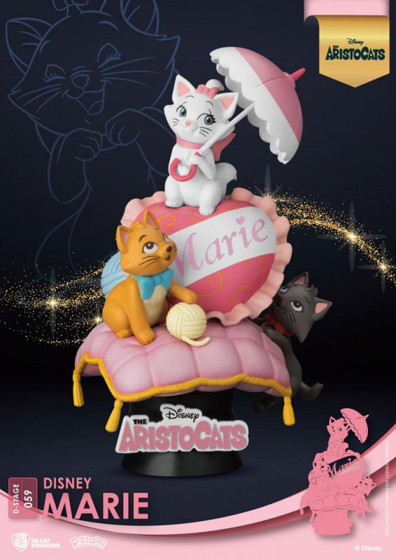 Disney Classic Animation: Marie 15 cm - D-Stage PVC Diorama - Beast Kingdom