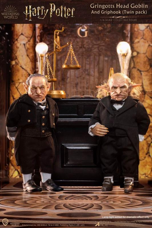 Harry Potter: Gringotts Head Goblin & Griphook 1/6 Action Figures - Star Ace Toys