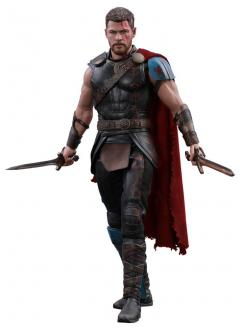 Thor Ragnarok Movie Masterpiece Action Figure 1/6 Gladiator Thor Deluxe Ver. 32 cm