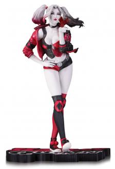 DC Comics Red, White & Black Statue Harley Quinn by Stanley Lau 19 cm