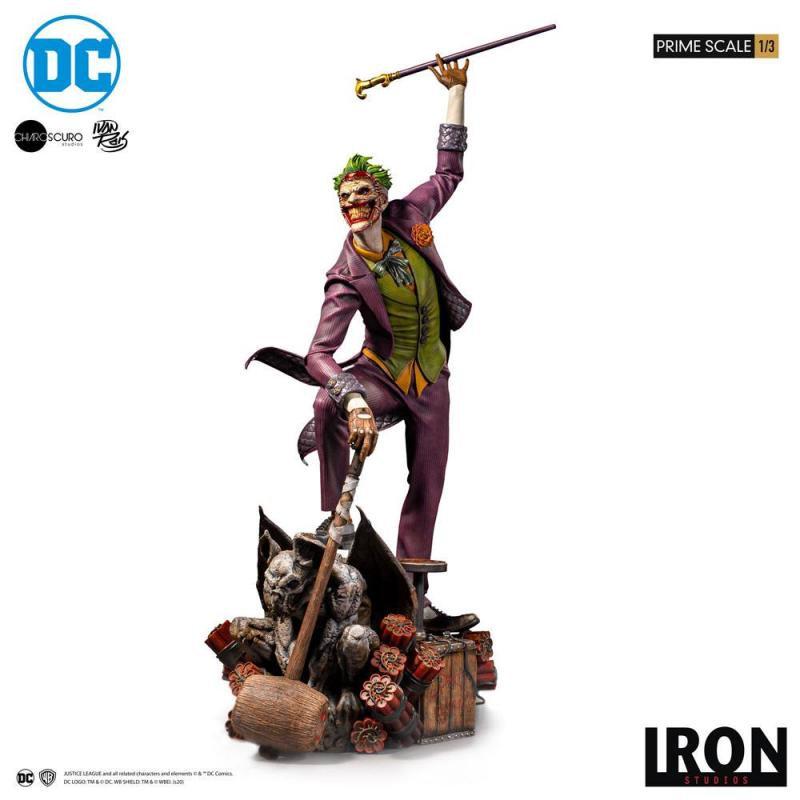 DC Comics: The Joker by Ivan Reis - Prime Scale Statue 1/3 - Iron Studios