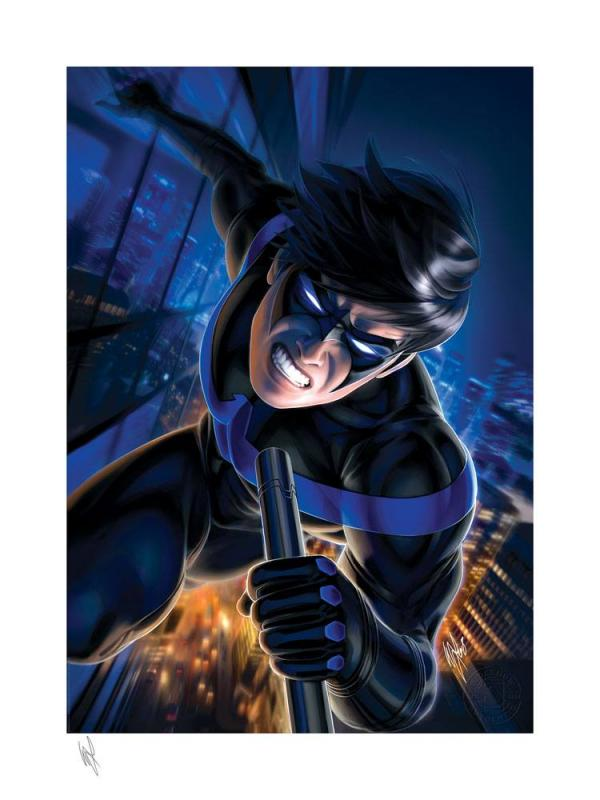 DC Comics: Nightwing 46 x 61 cm Art Print - Sideshow Collectibles