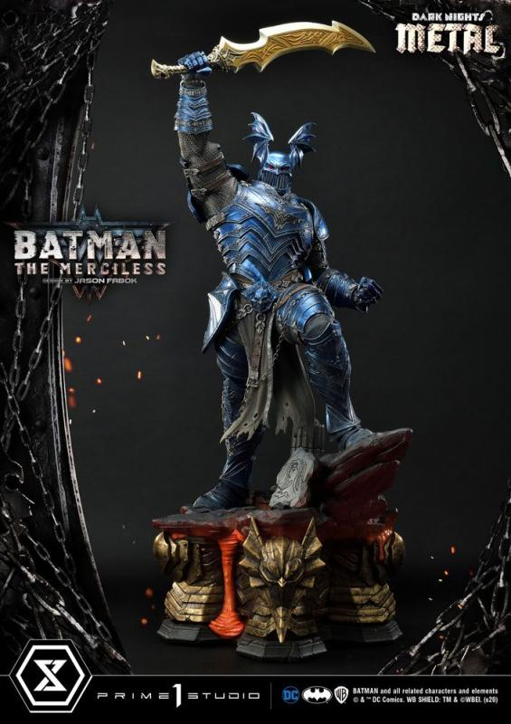Dark Nights: Metal Statue The Merciless 112 cm