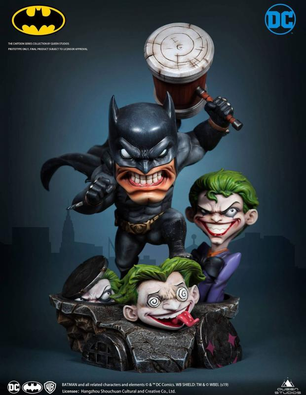DC Cartoon Series Statue 1/3 Batman 28 cm